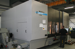 5 axis milling center for machining of large parts