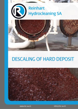 Descaling of Hard Deposit